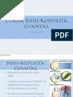 Curva Dosis-Respuesta Cuantal