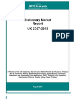 Stationery Market Report UK 2007_sample