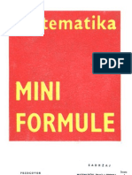 Matematika - Mini Formule[1]
