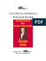 William Blake - Cantares de Experiencia