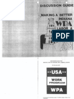 WPA Discussion Guide  Making A Better Indiana