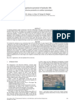 Liquefaction Potential of Hydraulic Fill