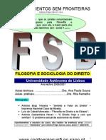 Filosofia e Sociologia Do Direito