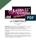 La competencia - Bases Competencias Virtuales - Semana Mechona 2011