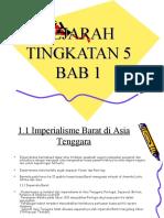 Sejarah Tingkatan 5 Bab1