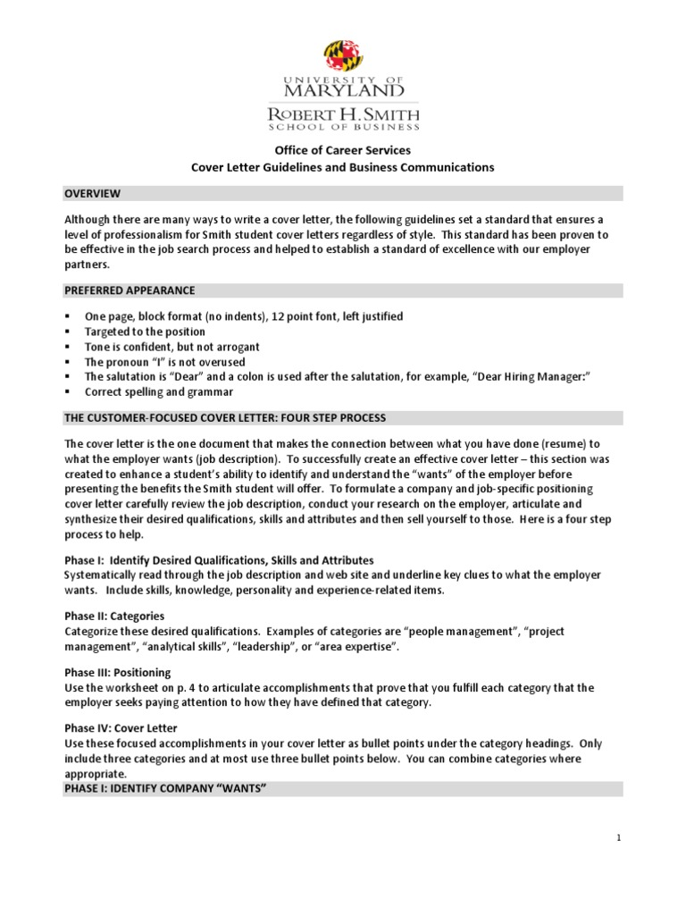 Cover Letter Guide | Financial Analyst | Valuation (Finance)