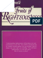 Fruits of Righteousness - Savelle