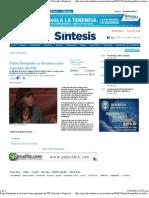 20-04-11 Paula Hernández se descarta como aspirante del PRI