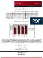 Monroe,CT Home Sales Report March 2011 by Higgins Group Real Estate