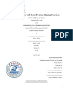 Welding Fixture With Active Position Adapting Functions