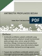 ANTIBIOTIK PROFILAKSIS BEDAH