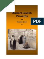 Ancient Jewish Proverbs