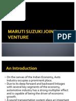 Maruti Suzuki Joint Venture (1)