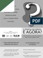 Folheto_abordagem - A Policia Me Parou e Agora