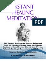 Instant Healing Meditation (Basic)_David Alan Ramsdale