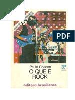 O Que é Rock -  Paulo Chacon