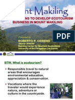 Mt  Makiling: Top 10 reasons to develop ecotourism business