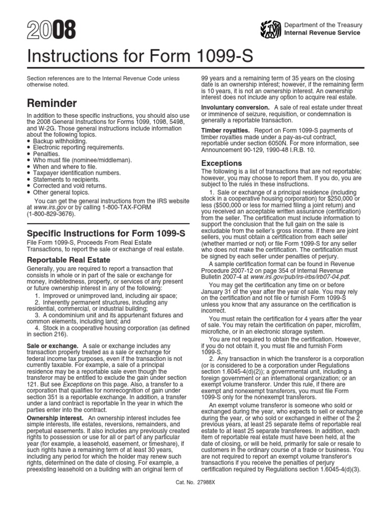 Us internal revenue service i1099s irs tax forms mortgage law falaconquin