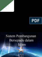 Sistem Pembangunan Bersepadu Dalam Islam
