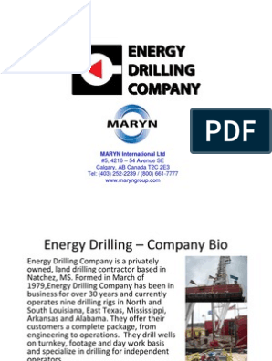 Energy Drilling - CAT C13 Engine at 23888 Hours | Drilling