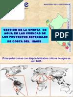 Problemática del agua en el Perú