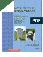 Modul Praktikum Klimatologi 2010 Maret