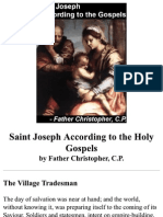 Saint Joseph According to the Holy Gospels