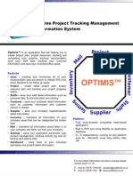 Brochure - Optimis (en)