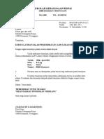 Surat Panggilan Kursus LDP