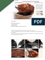 Arroz Doce de Chocolate