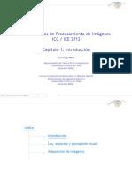 1. Introducción al procesamiento de imágenes (c) Domingo Mery
