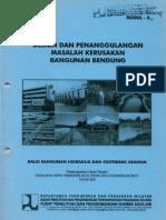 Desain Dan Penanggulangan Masalah Kerusakan Bangunan Bendung