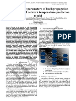 14 IJAEST Volume No 2 Issue No 1 a Study on the Parameters of Back Propagation Artificial Neural Network Temperature Prediction 099 103
