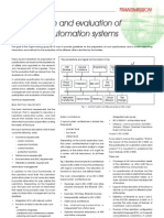 Specs and Evaluation of SS Automation