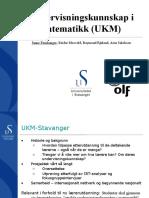 Presentasjon FoU i praksis 2011