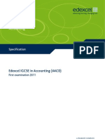 IGCSE2009 Accounting (4AC0) Specification
