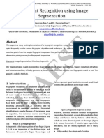 3.IJAEST Vol No 5 Issue No 1 Fingerprint Recognition Using Image Segmentation 012 023