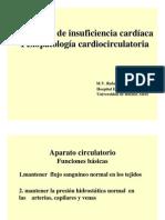 Med 2-Síndrome de insuficiencia cardíaca Fisiopatologia cardiocirculatoria
