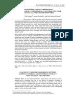 Analisis Per Banding An Risiko Biaya Kontrak Lumpsum Dengan Kontrak Unit Price