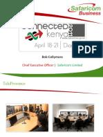 Safaricom Innovation - Bob Collymore, Safaricom