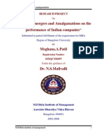Mergers and ions on the Performance of Indian Companies-Meghana a Patil-0489