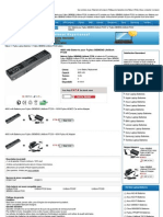 SIEMENS LifeBook P7230 Batteri