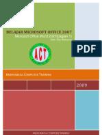 Panduan Microsoft Office Word 2007 Bagian 11