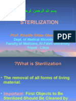Lecture-Sterilization and Disinfection