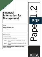 F2 Past Paper_Question12-2001