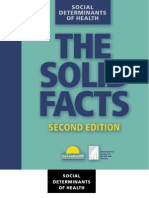 Social Determinants of Health the Solid Facts Second Edition