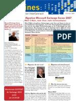 Migration Microsoft Exchange Server 2007