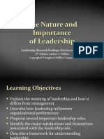 1 the Nature and Importance of Leadership