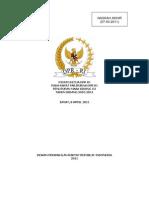 Pidato Penutupan Masa Sidang III 2010-2011