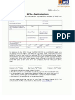 Uti Mutual Fund Sip Re Registration Form